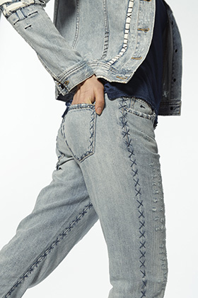 House Guest Artist Stieglitz - Monroe Tapered Fit Jeans SBI