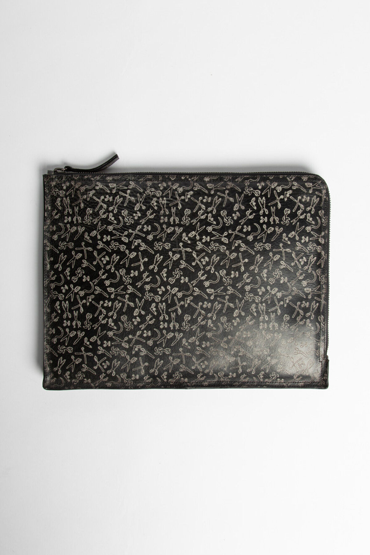 MACBOOK COVER Scissor All-Over Print Leather