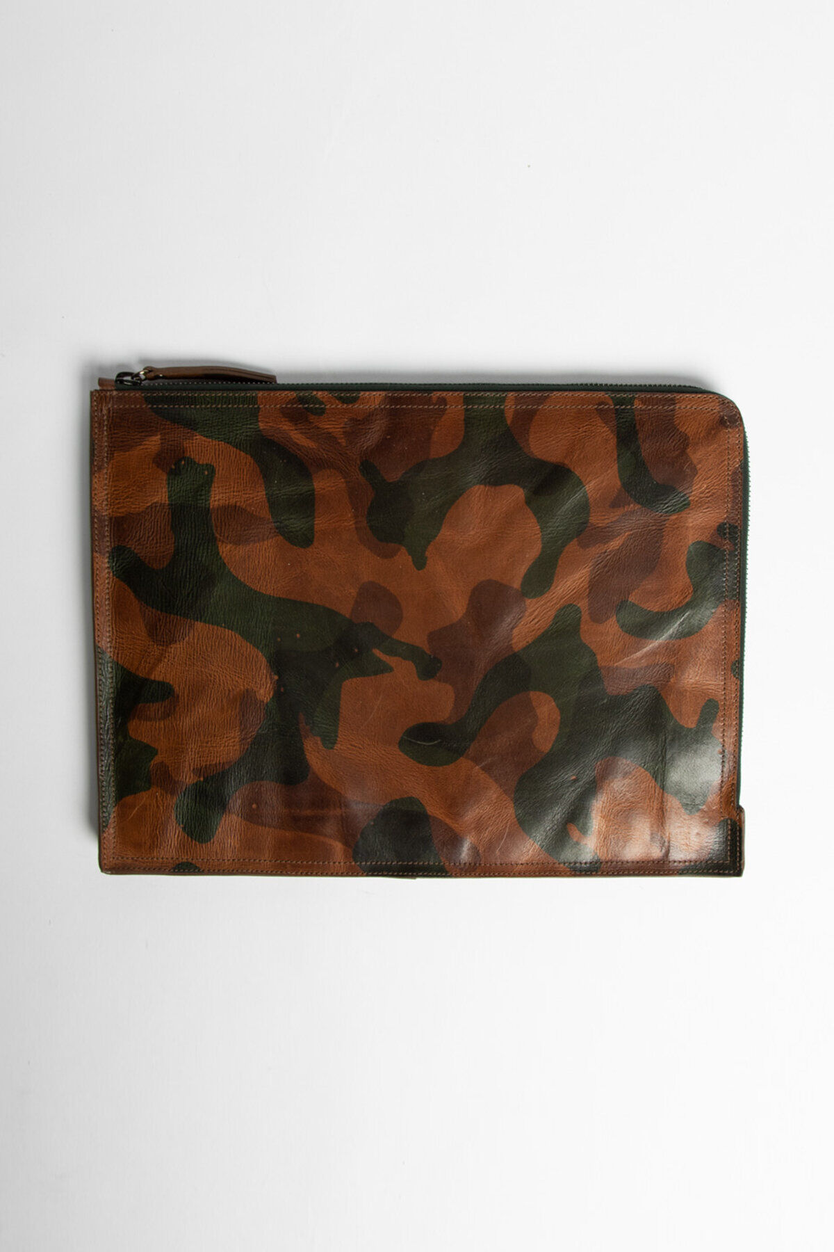 MACBOOK COVER Camo Laser Print Leather