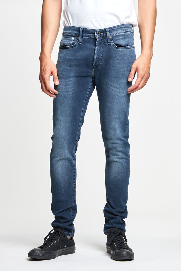 BOLT Dark wash, light fade - Skinny Fit
