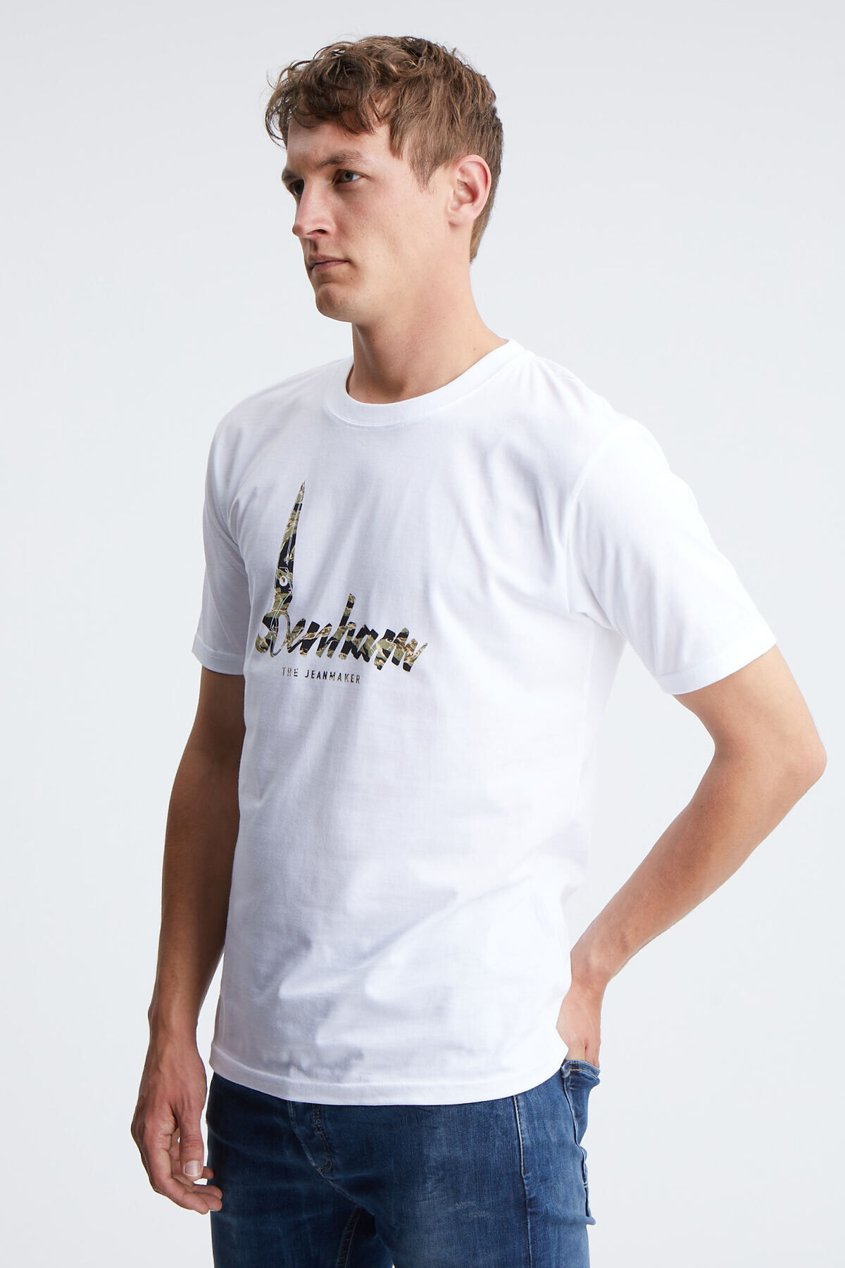HEATON TEE Premium Core Jersey - Regular Fit