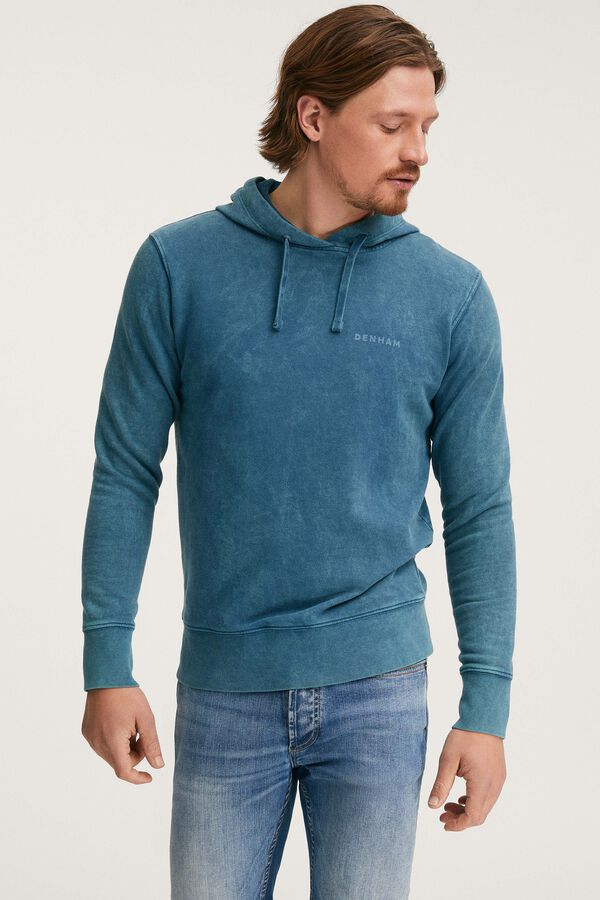 BAKER REGULAR HOODY Sky Bleached - Regular Fit