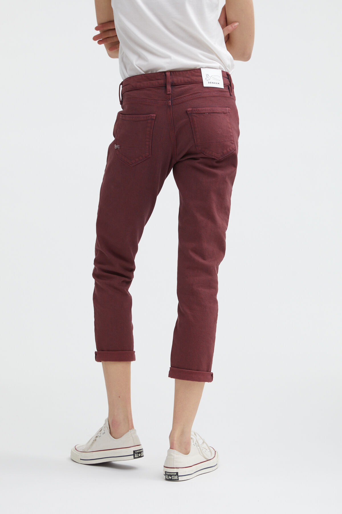 MONROE GOTS Cotton & Recycled Stretch Denim -  Girlfriend Fit