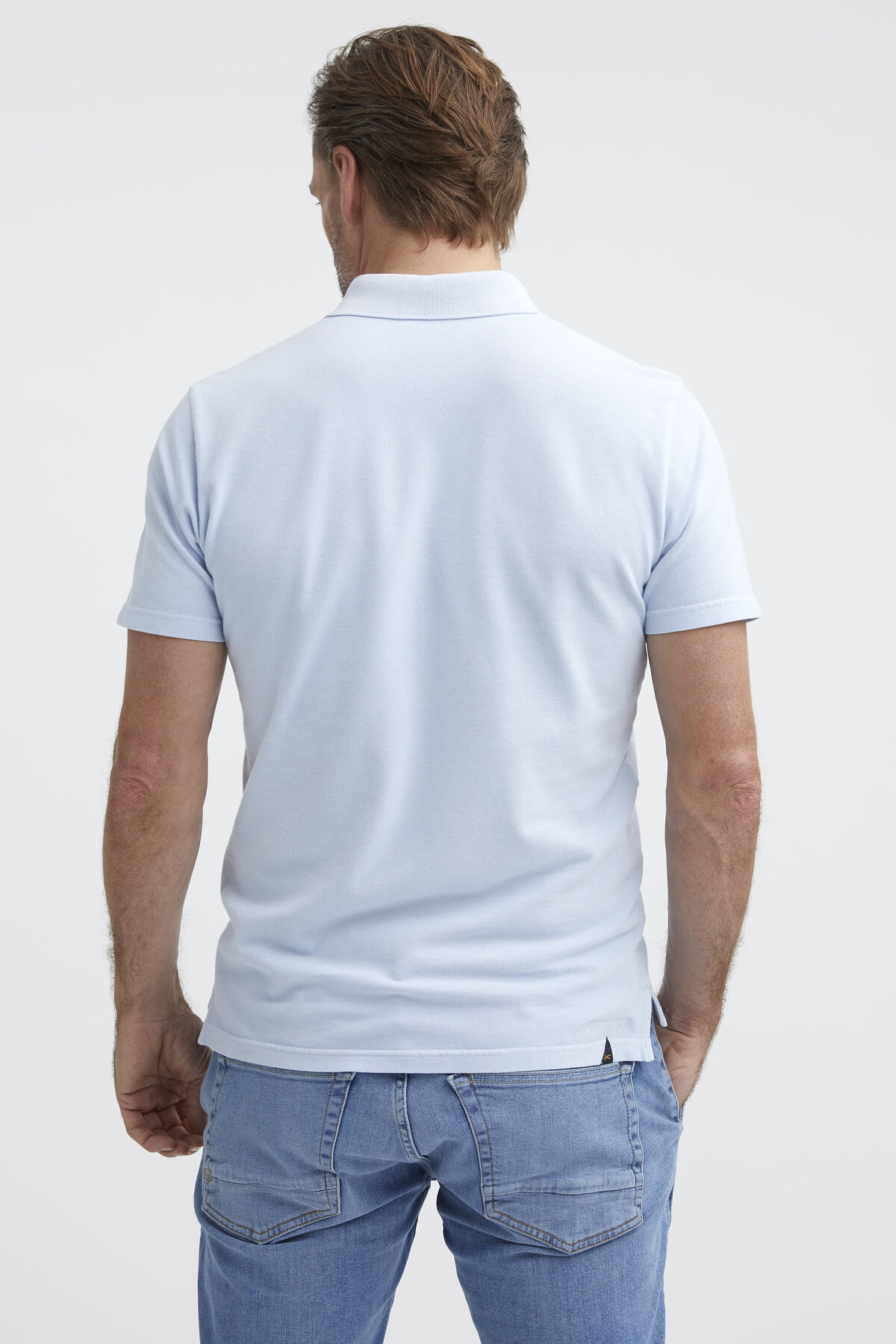LUPO POLO Cotton Piqué Dyed - Slim Fit