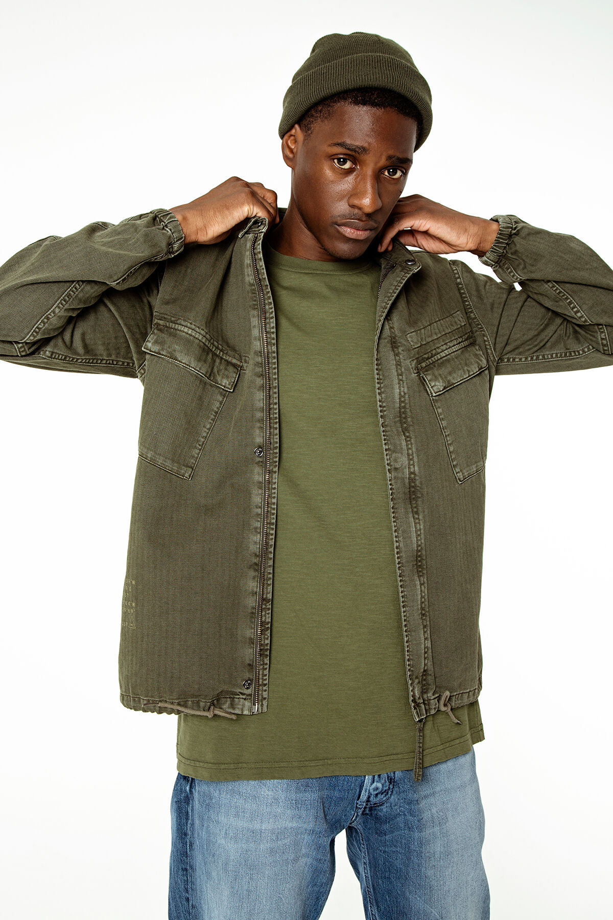 ENDERS ARMY SHIRT Military-inspired - Regular Fit