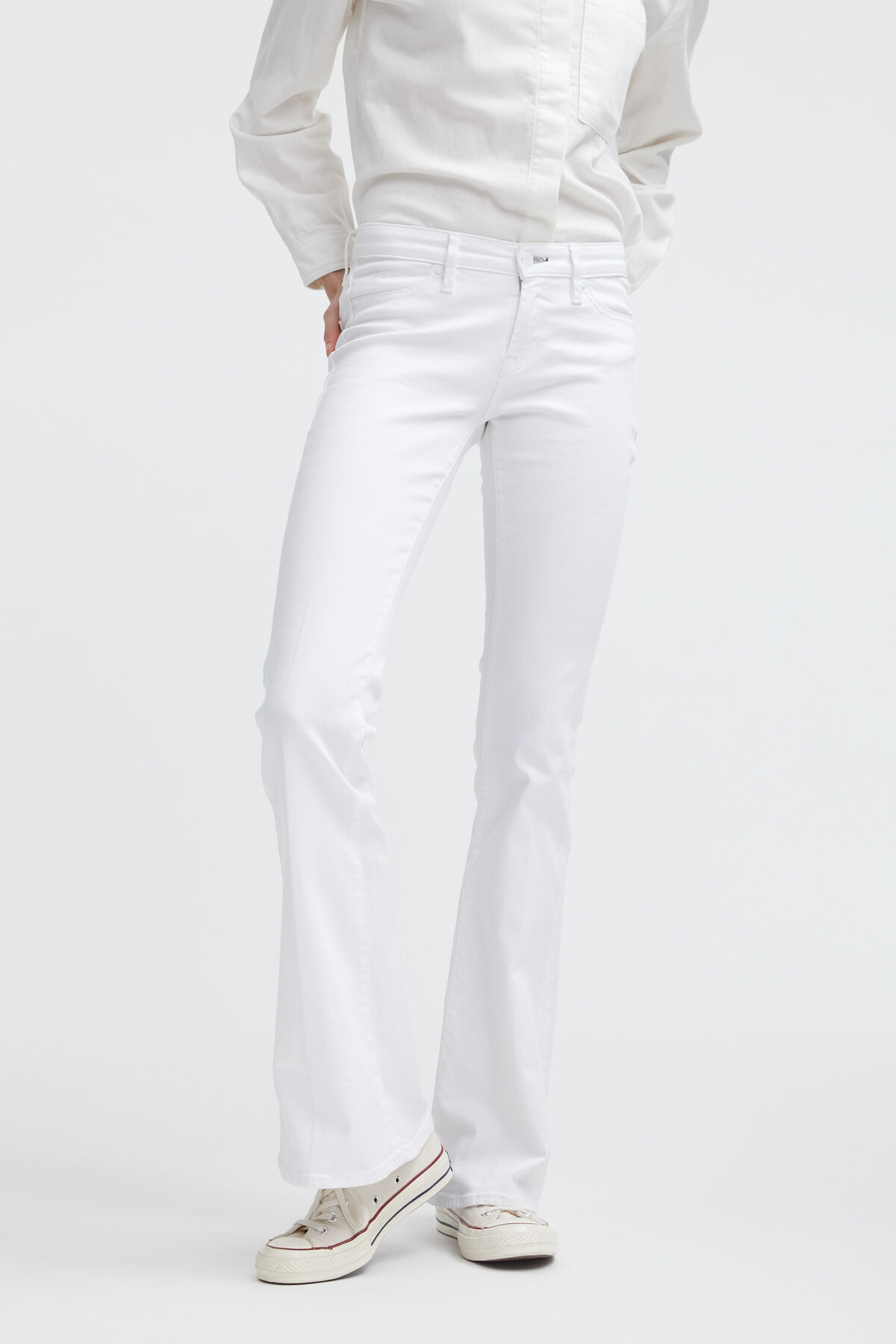 FARRAH Comfort Stretch Denim - Flare Fit