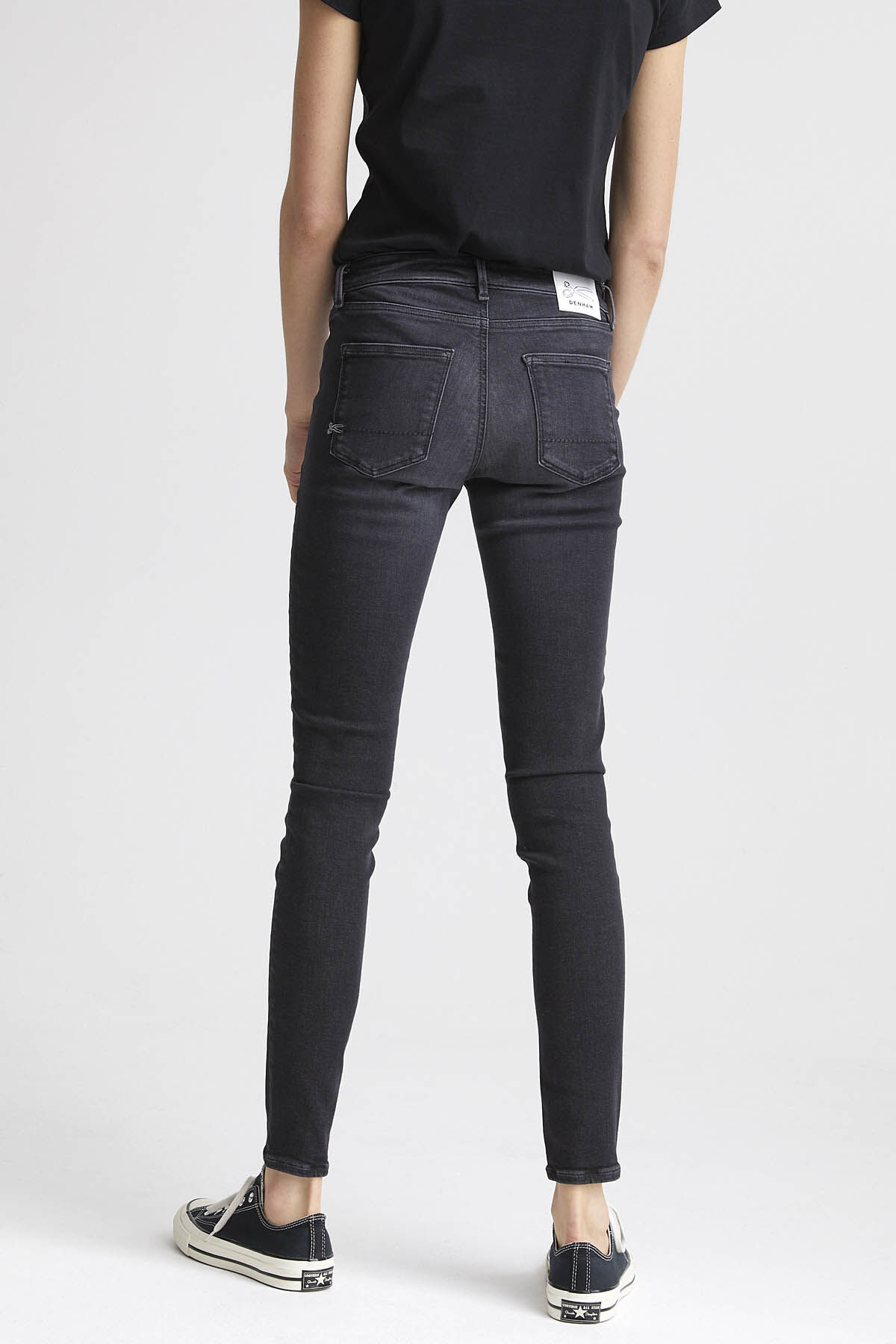 SPRAY Soft Fade Denim - Mid-rise, Tight Fit
