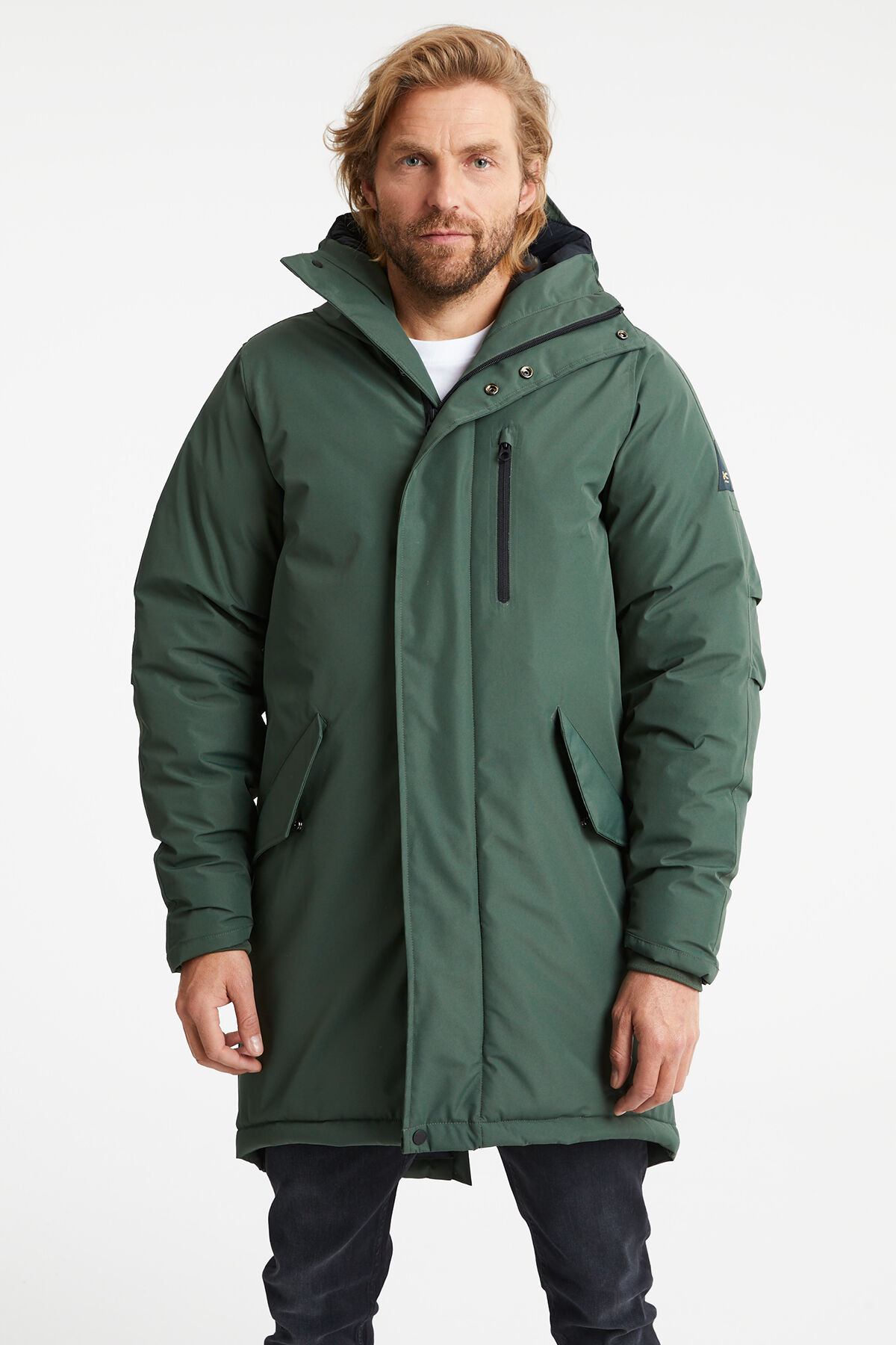 AVENUE PARKA Triple layered shell - Regular Fit