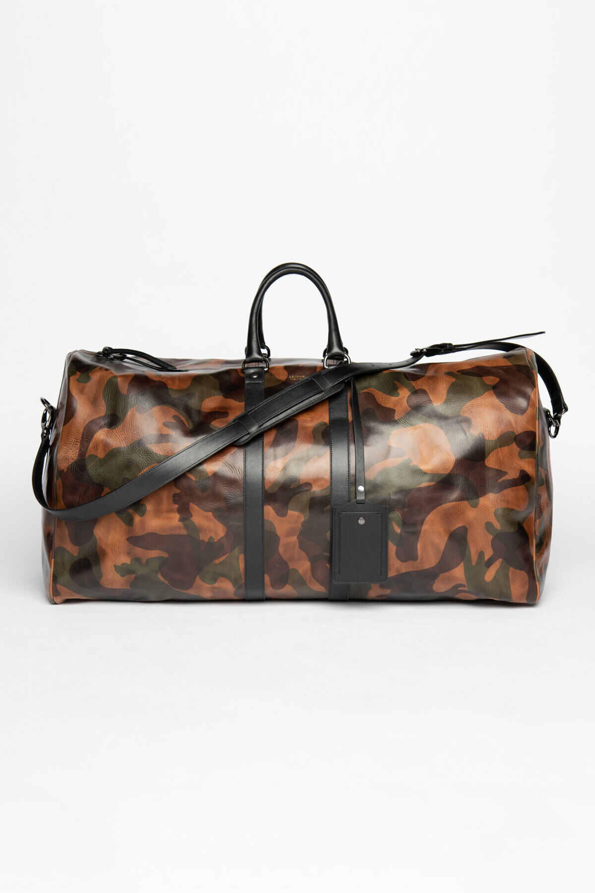 WEEKEND BAG Camo Laser Print Leather