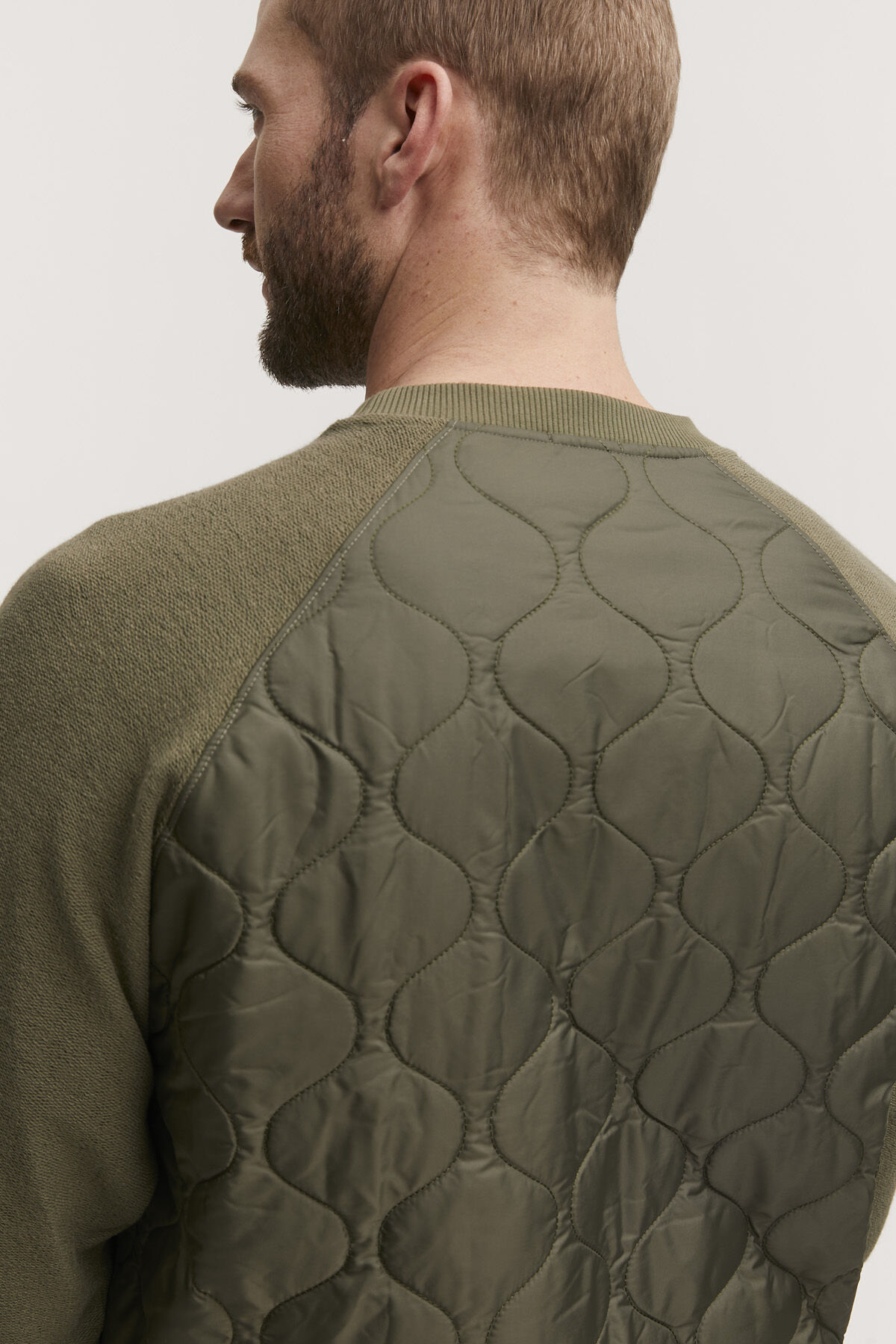 STAPLETON SWEAT Quilted Back Panel - Boxy Fit