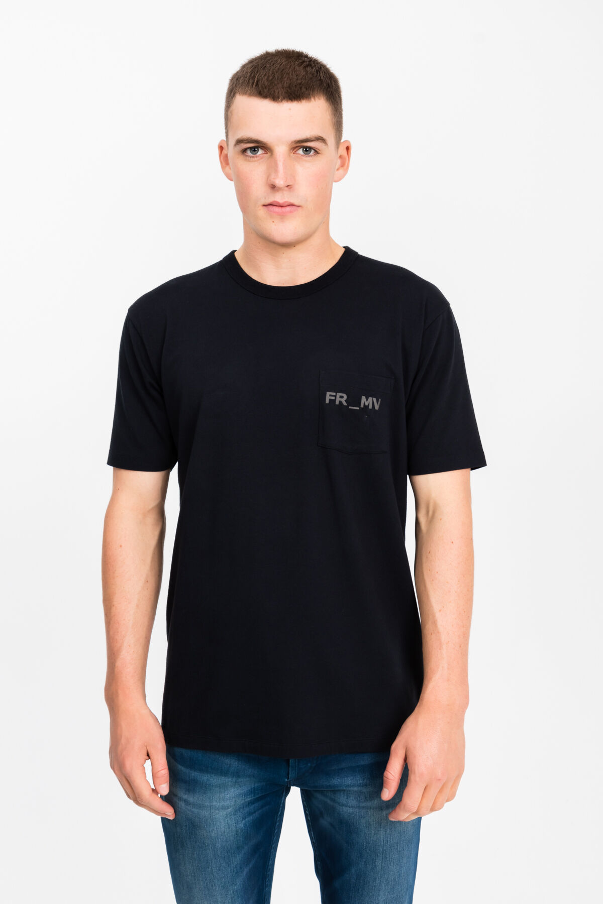 FM POCKET TEE Tech-Cotton blend - Regular Fit