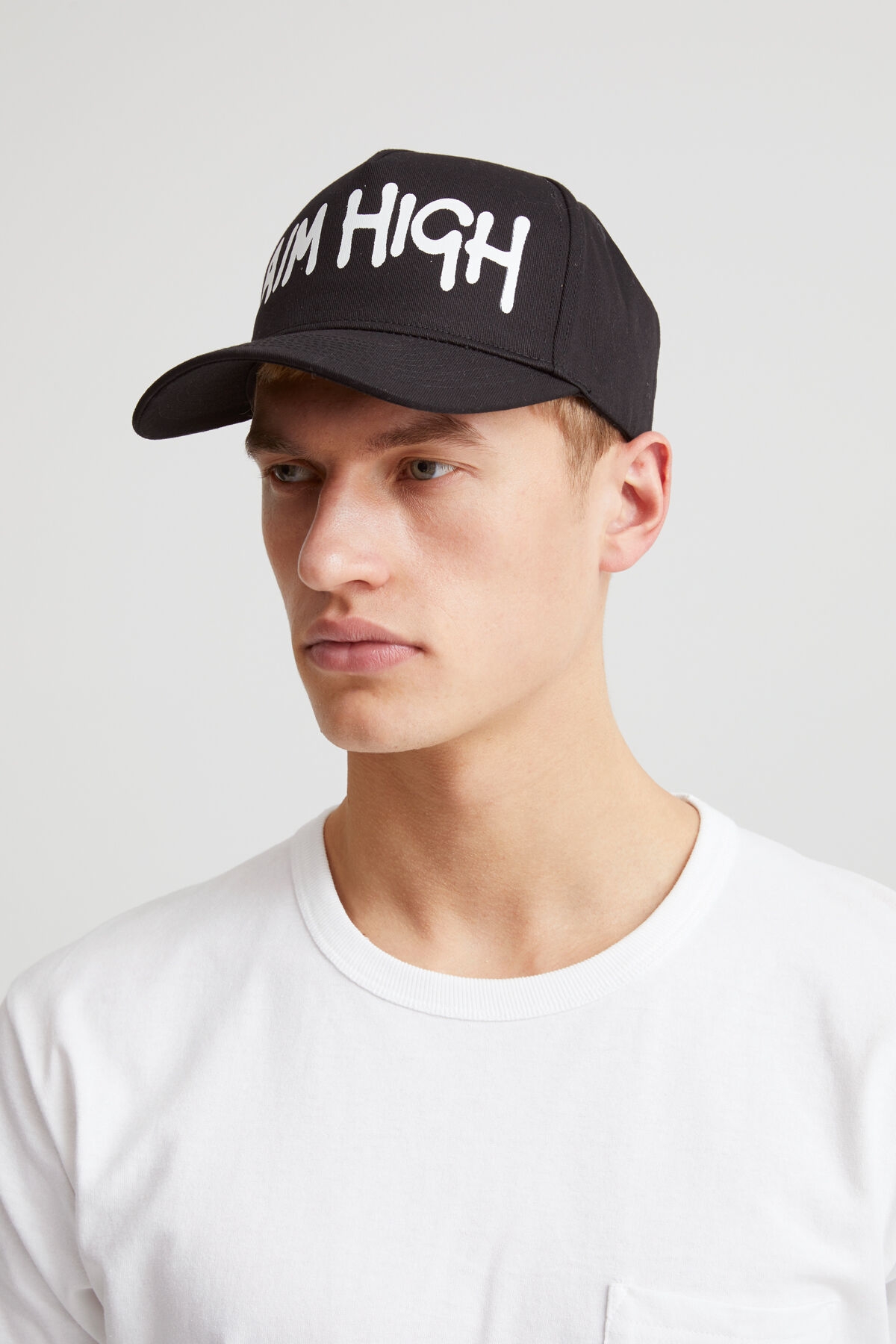 DENHAM X LASER CAP - Embroidered Cotton