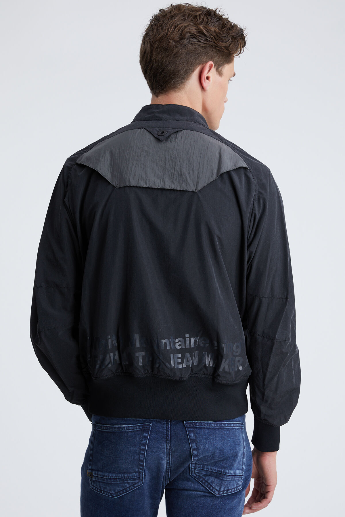 RAGLAN W POCKET JKT High-Tech Nylon - Collab