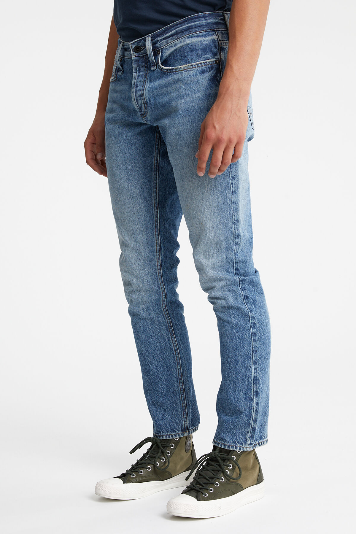 HAMMER Classic Washed Indigo Denim - Athletic Fit
