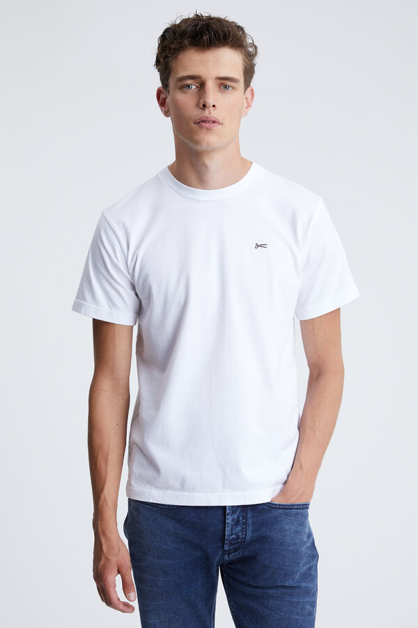 LOGO PRINTED SS TEE Pure Cotton - Collab