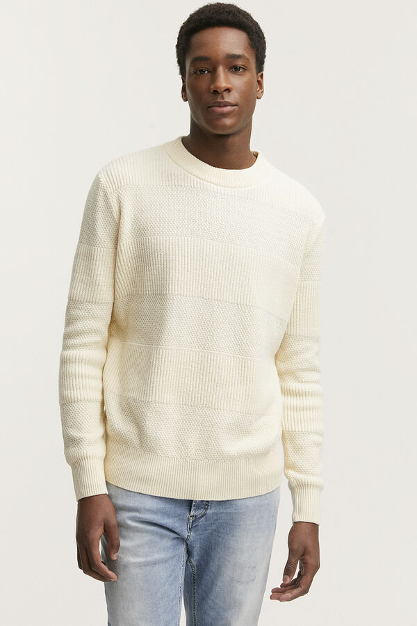 COLDLANE CREW Stripe Texture - Regular Fit