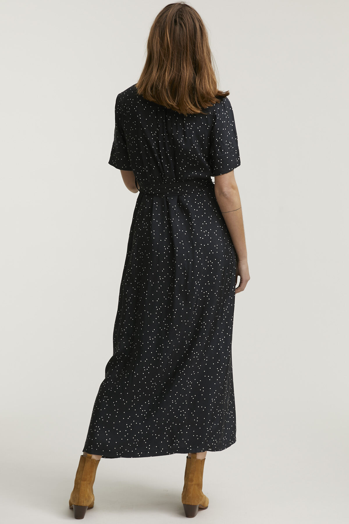 DENISE DRESS Essential Cupro Blend - Maxi