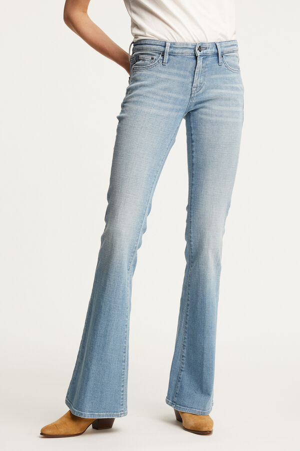 FARRAH Light Blue Denim - Flare Fit