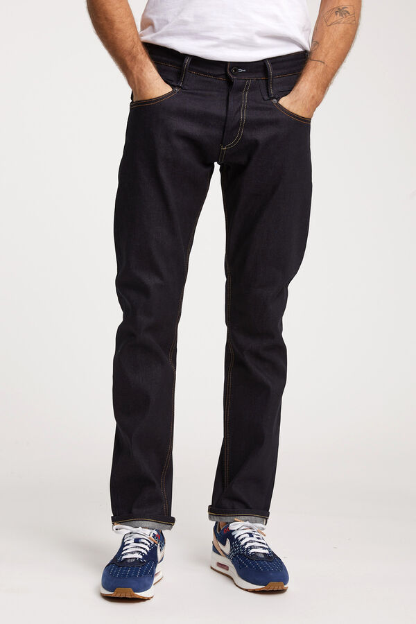 SKIN Unwashed indigo - Slim Fit