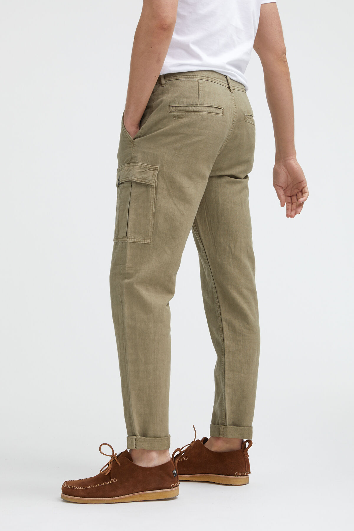 CARGO PANT Cotton & Linen - Relaxed Fit
