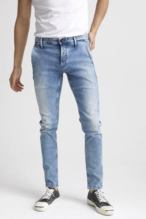 YORK Heavy Fade Denim - Slim, Tapered Fit
