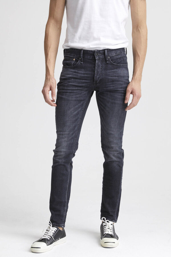 BOLT Left-Hand Black Faded Denim - Skinny Fit