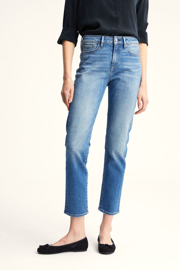 JOLIE BLUE AUTHENTIC DENIM - High-rise, Straight Fit