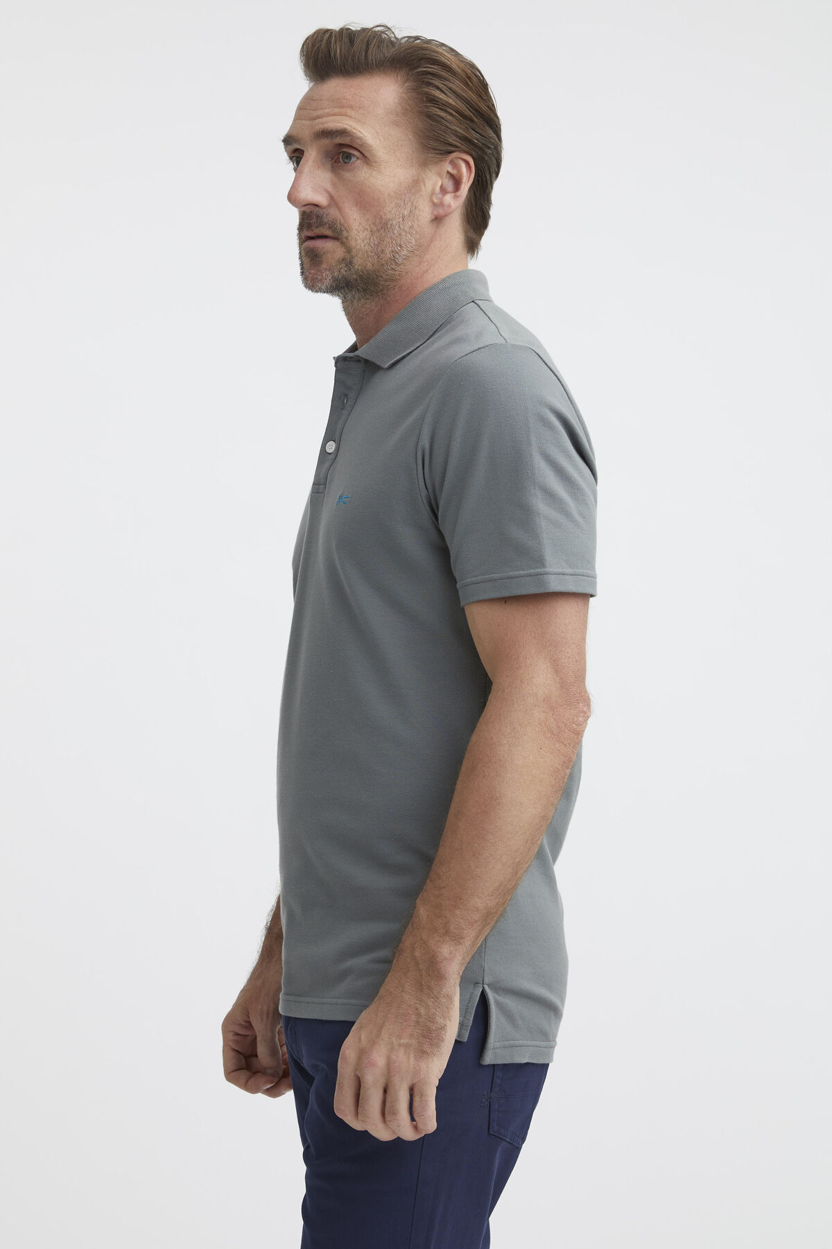 LUPO POLO Stretch Cotton Piqué - Slim Fit