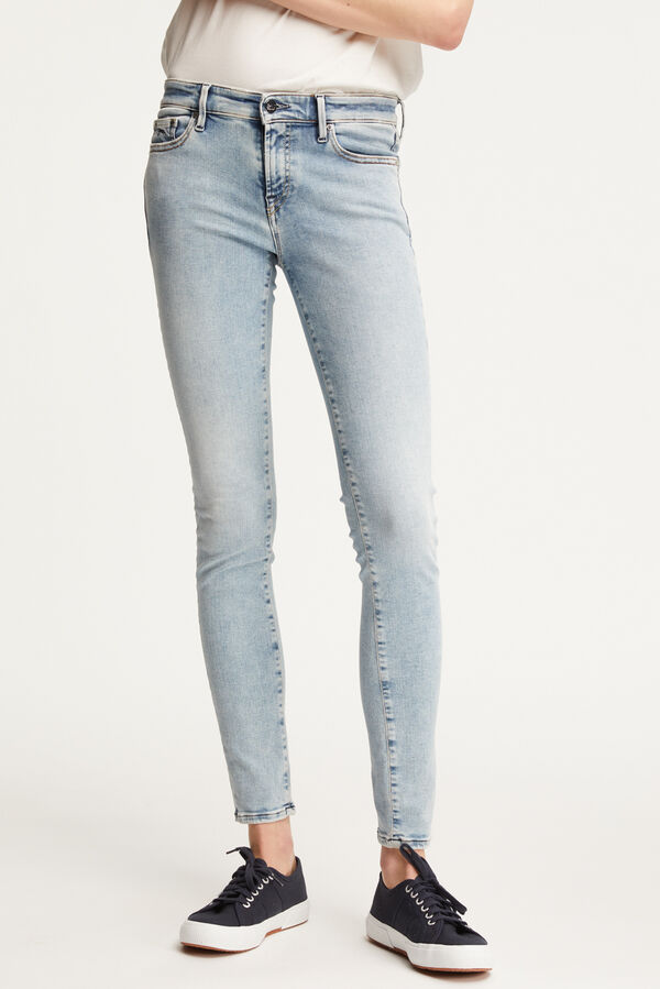 SPRAY Summer Indigo Denim - Mid-rise, Tight Fit