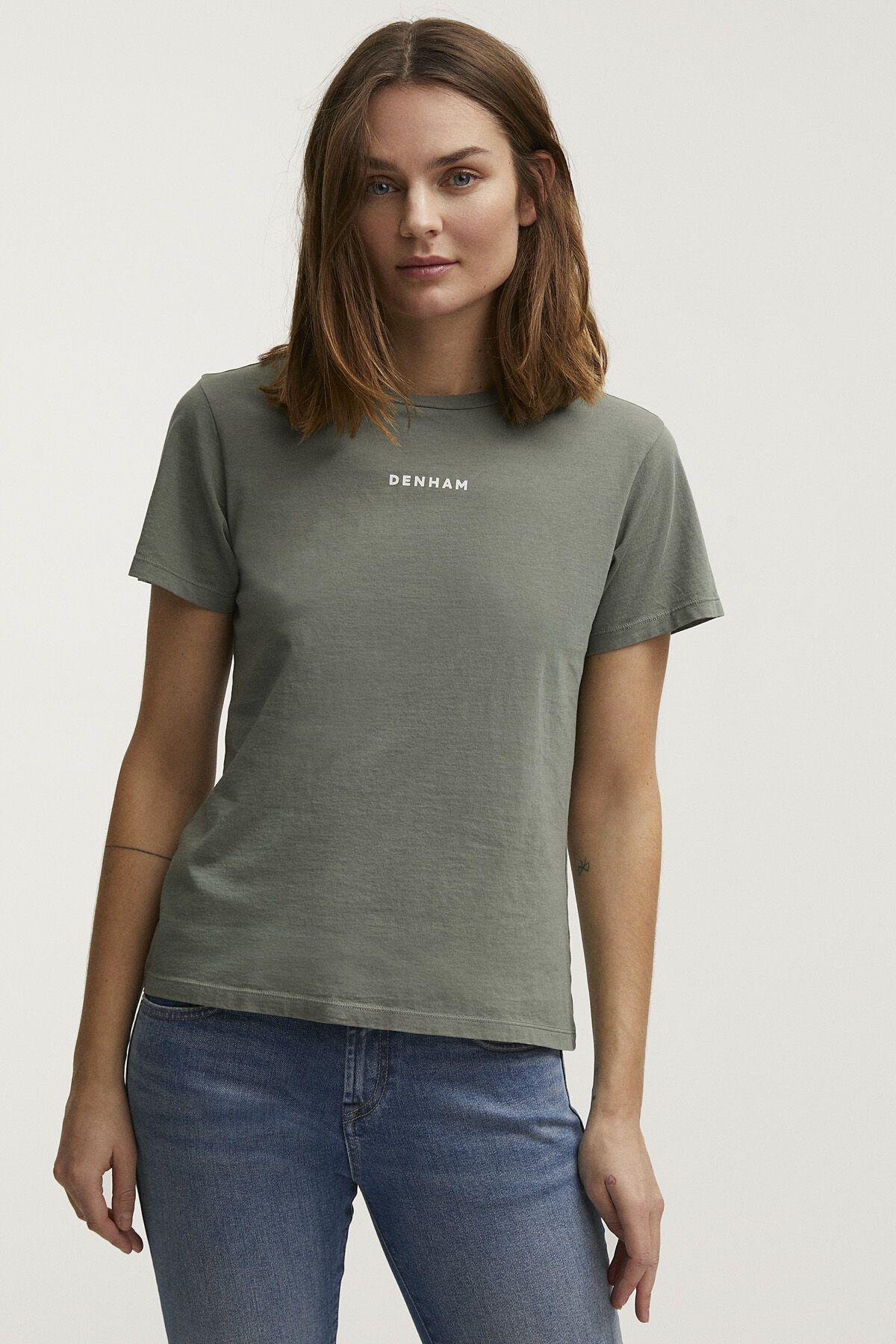 CAMELLIA GRAPHIC TEE Premium Cotton Jersey - Regular Fit