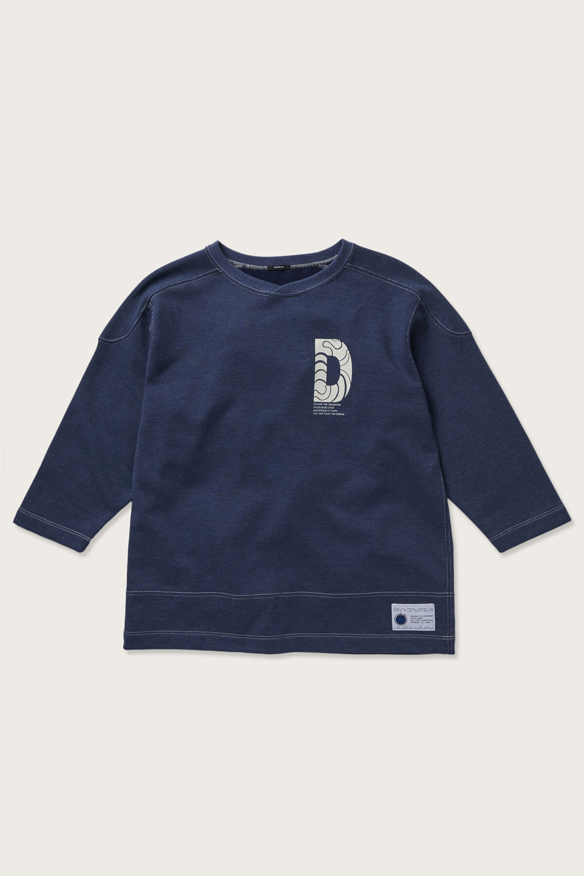 FOOTBALL TEE Varsity Inspired Badge  -  Japanese Capsule Collection