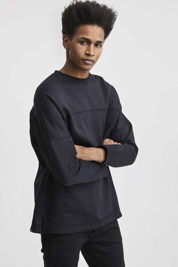 FM DOJO TECH SWEAT Polyamide & Cotton blend - Boxy Fit