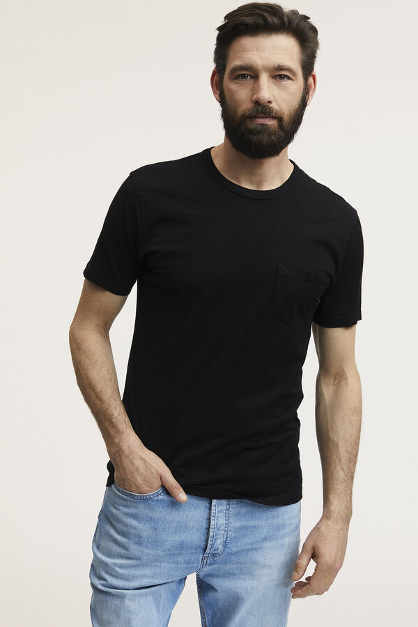 ROGER POCKET TEE Slub Cotton - Slim Fit