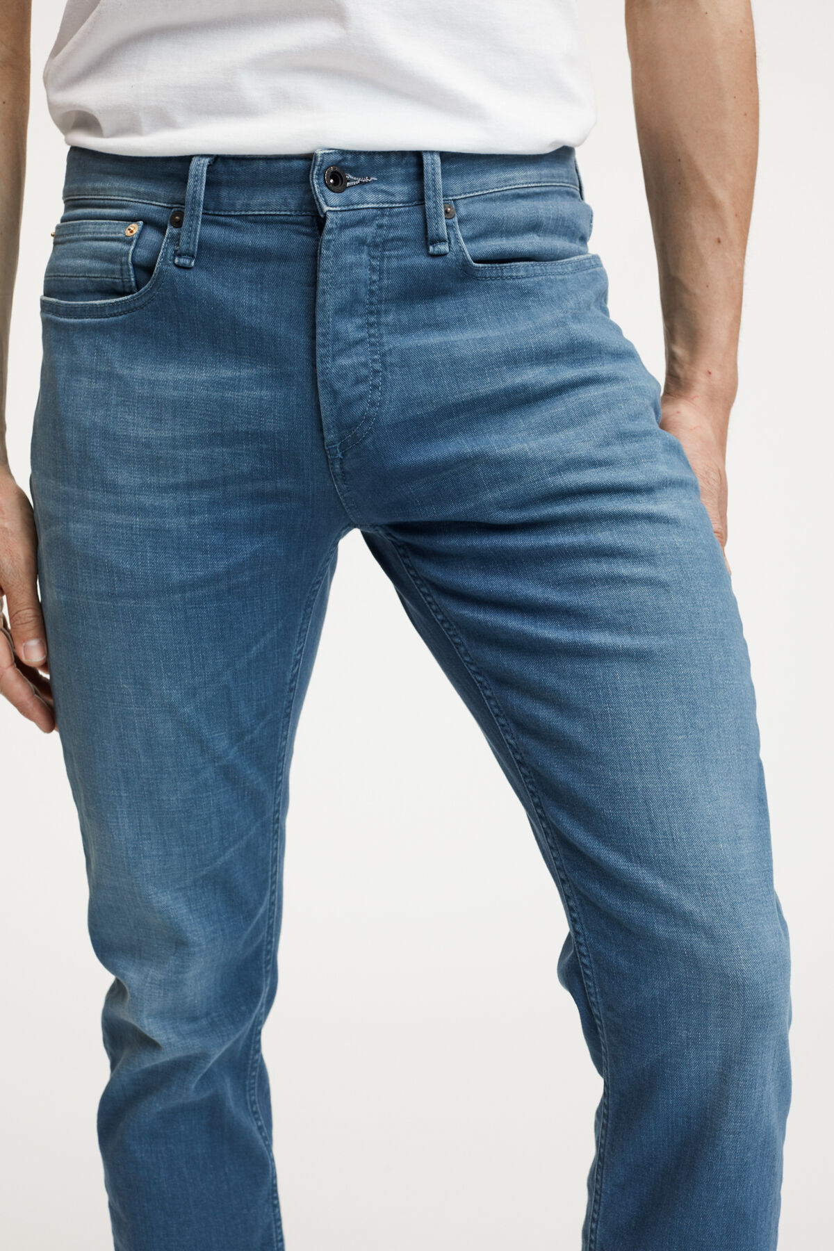 RAZOR Left-hand Fresh Blue Denim - Slim FIt