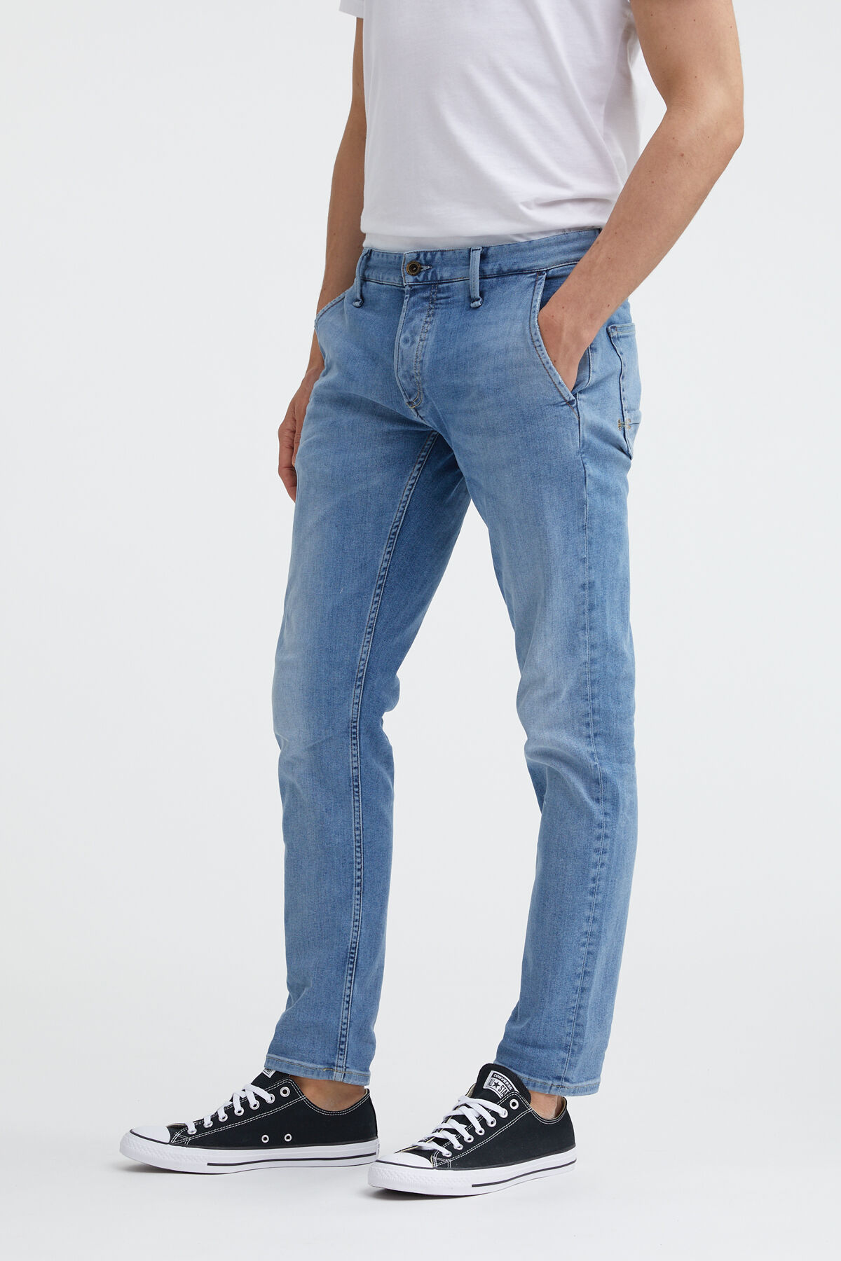 YORK Organic Cotton Denim - Slim, Tapered Fit