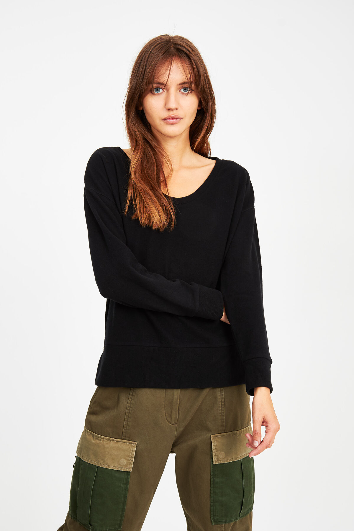 SHOWA SCOOP KNIT CMJ