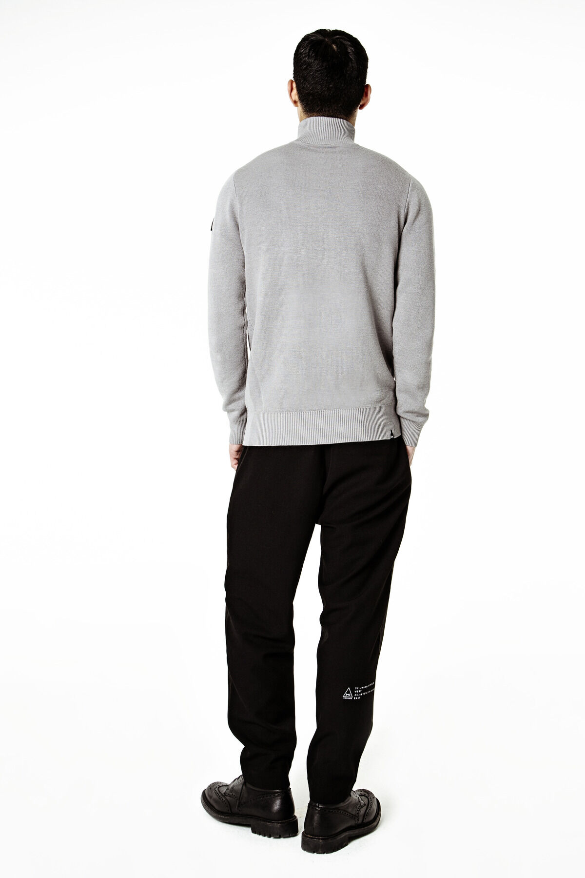 HALF-ZIP WALL KNIT TDF