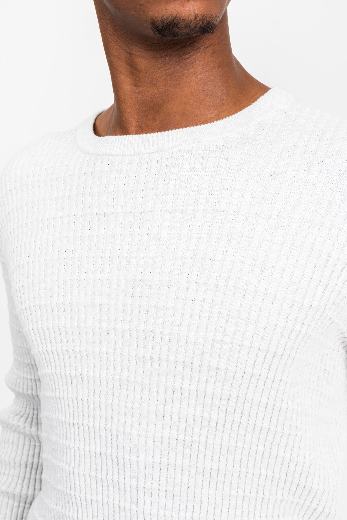 CADET WAFFLE KNIT Lightweight Cotton - Slim Fit