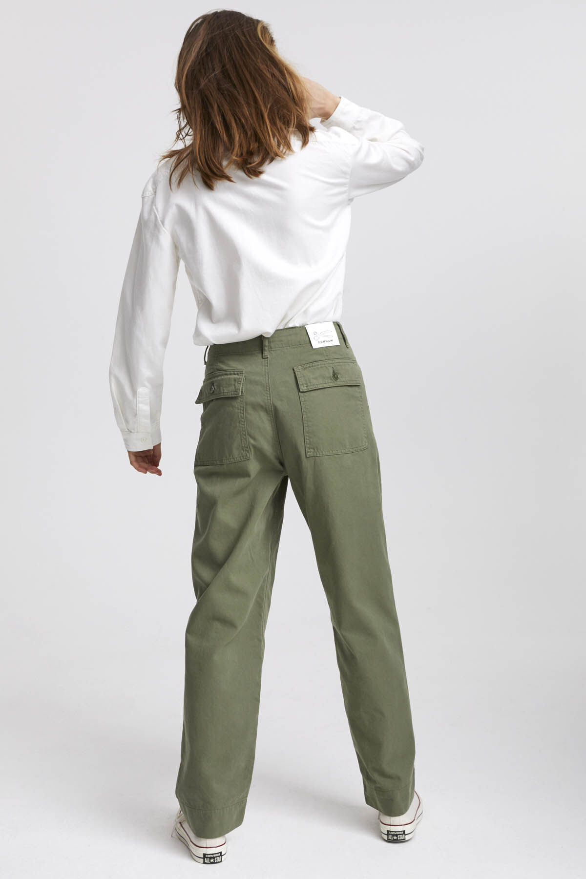 HAWTHORN PANT Soft Cotton Twill - Straight Fit