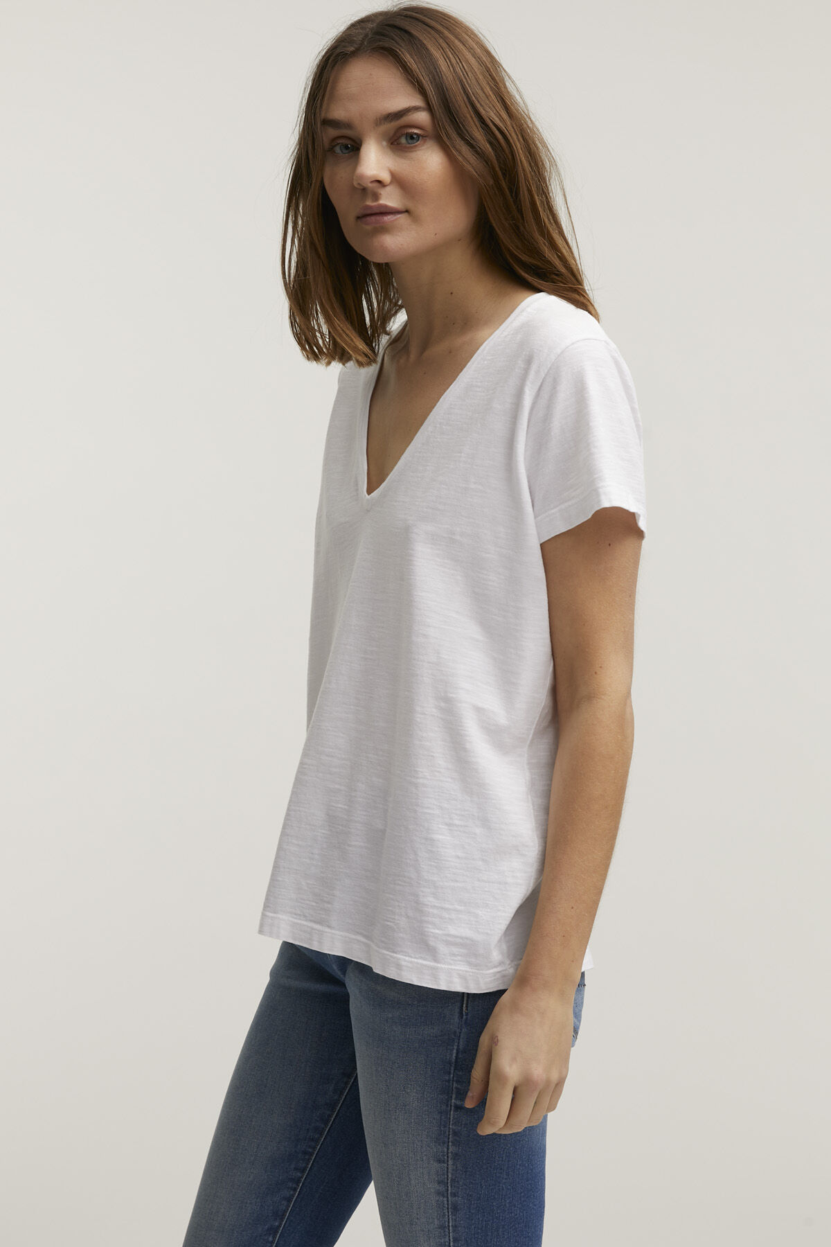 RAMONA TEE Slub Cotton - Regular Fit