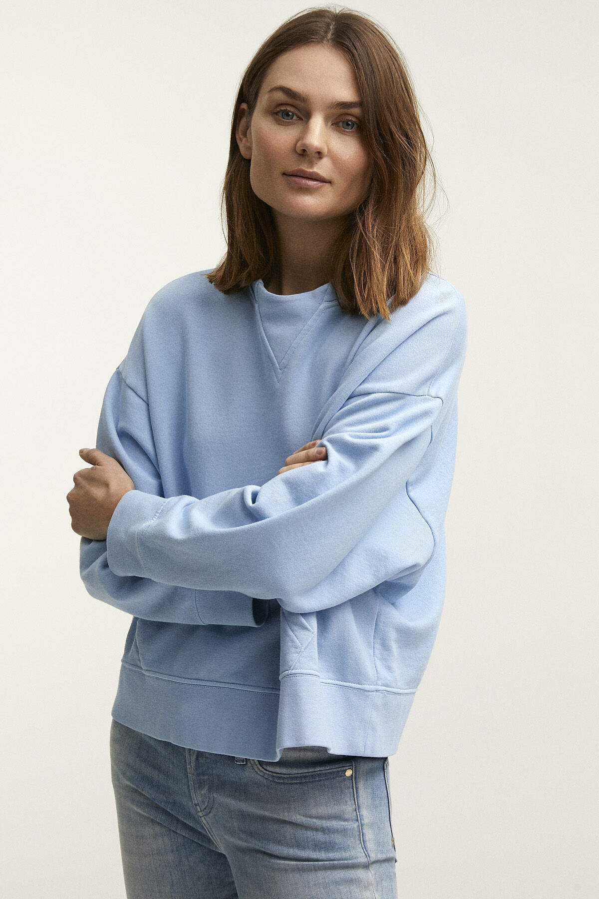 LOXFORD SWEATSHIRT Premium Loopback Cotton - Relaxed Fit