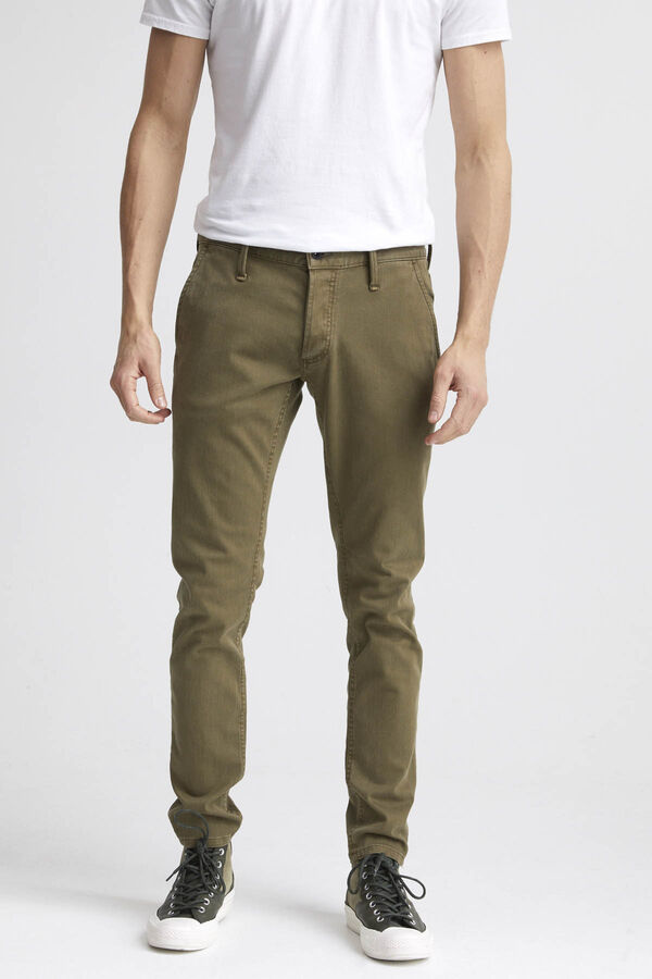 YORK Garment Dyed Chino - Slim, Tapered Fit