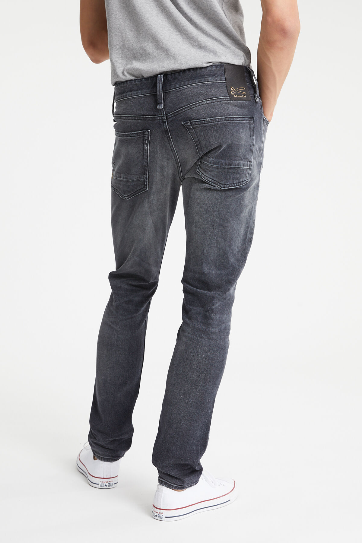 RAZOR Three Year Black Denim - Slim Fit