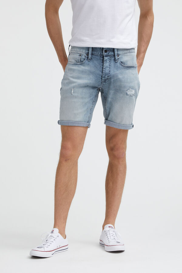 RAZOR SHORT Ripped & Repaired - Slim Fit