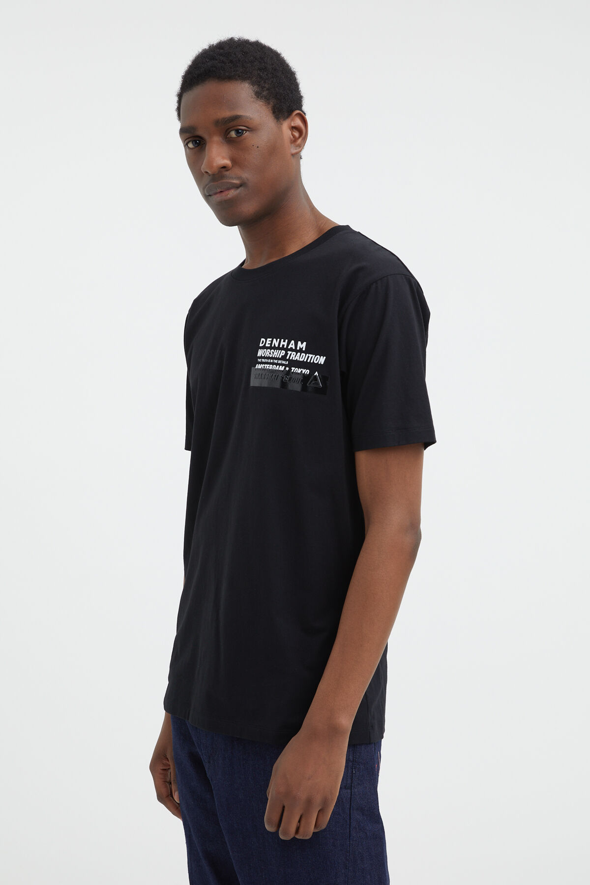 WORSHIP TRADITION TEE Jersey Cotton - Regular Fit
