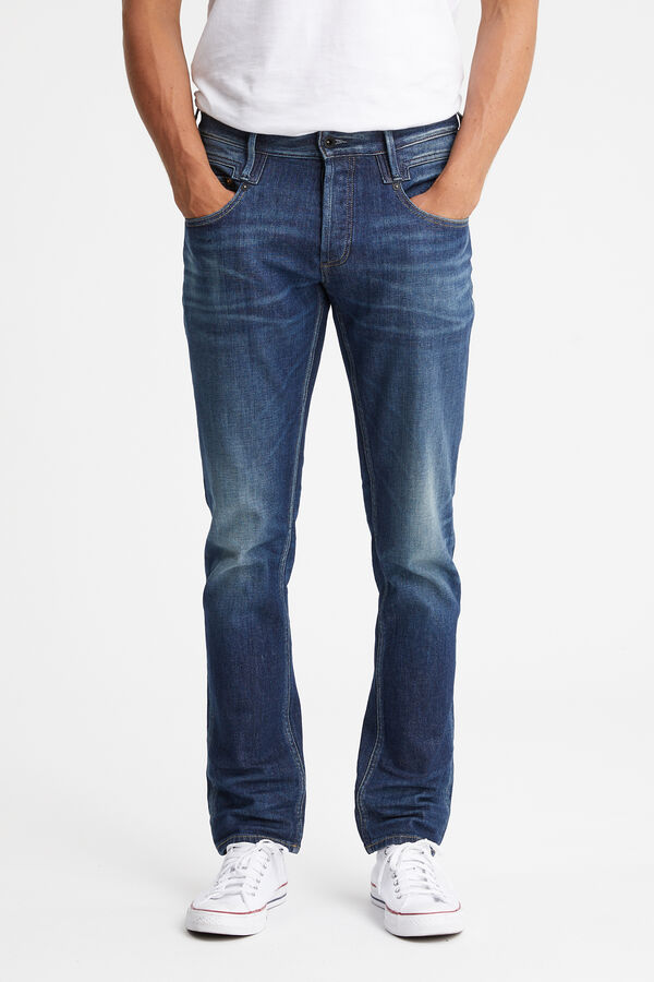 SKIN  Medium Indigo Denim - Slim Fit