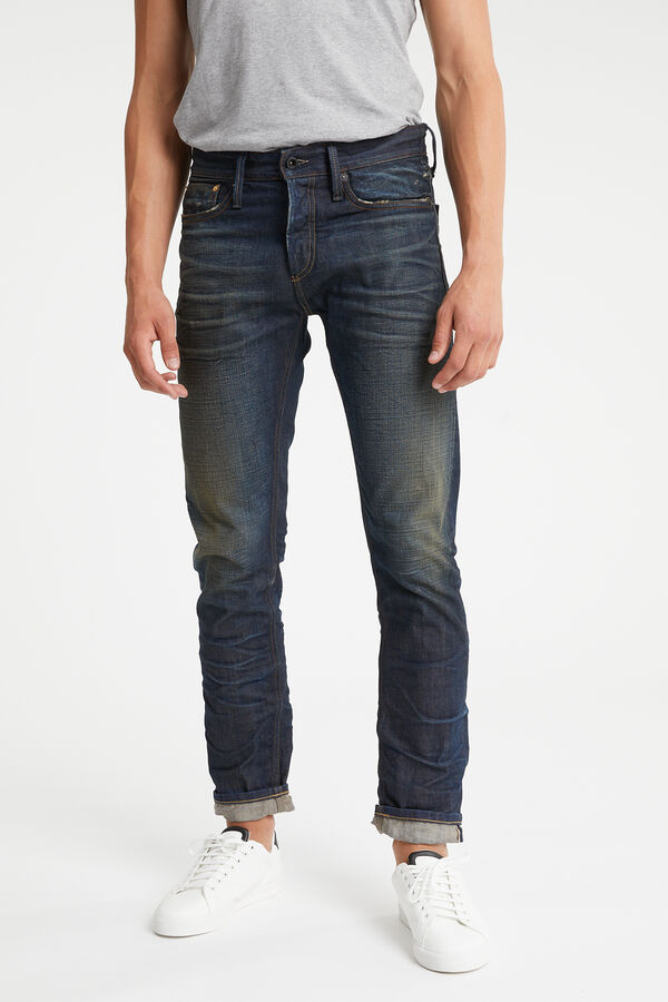 RAZOR Dark Worn Selvedge - Slim Fit