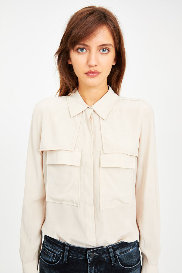 HYOKO SHIRT Essential Cupro - Regular Fit