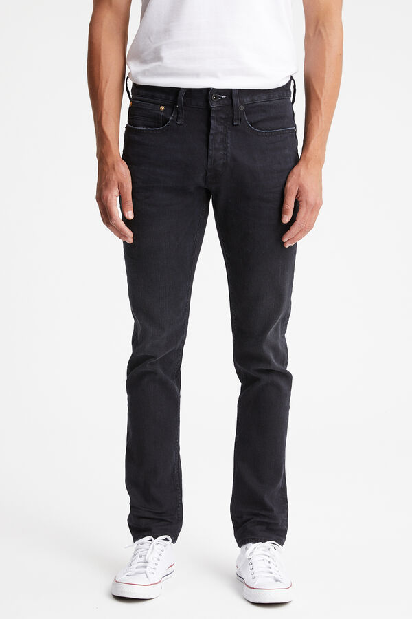 RAZOR Black sustainable denim - Slim Fit