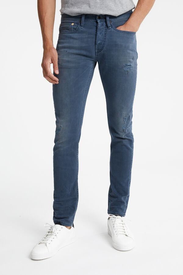 BOLT Special Indigo Denim, Rip & Repair - Skinny Fit